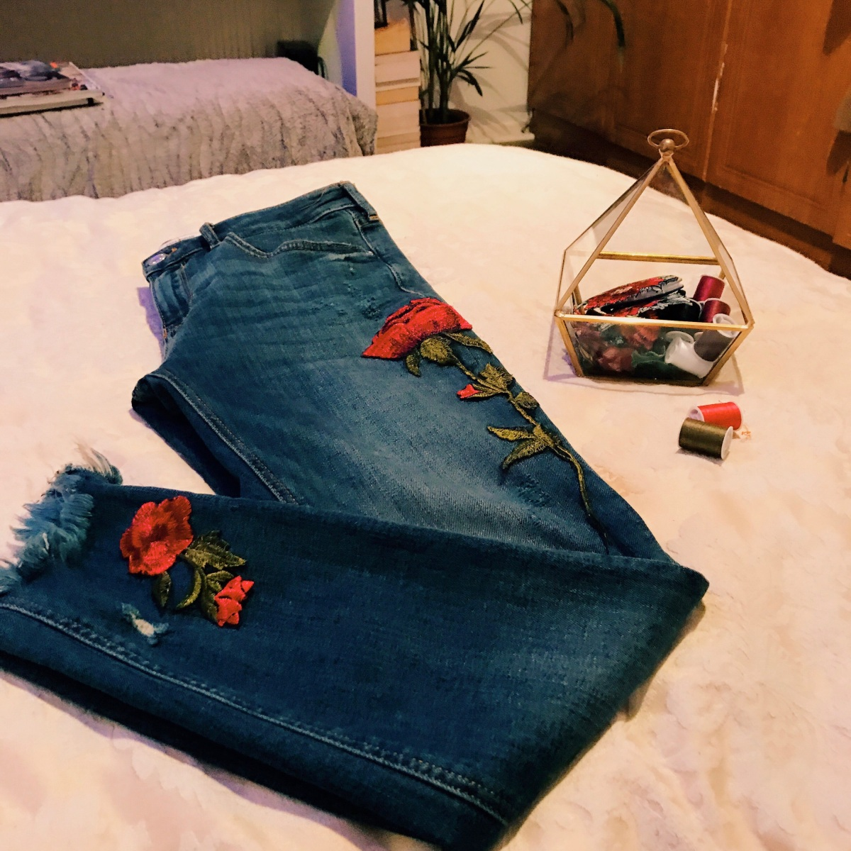 """DIY"" FASHION WHEN BROKE! MISSION EMBROIDERY"